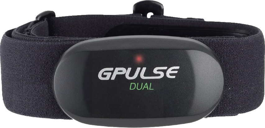G.PULSE HR08 BLUETOOTH SMART & ANT+ DUAL HEART RATE CHEST BELT